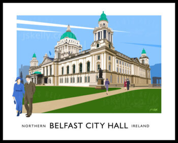 Art print of Belfast City Hall