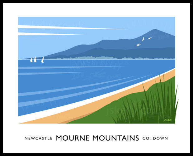 Newcastle and Mournes