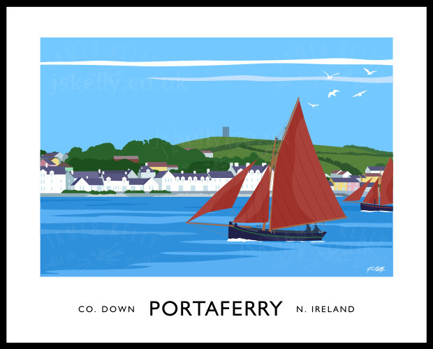 PORTAFERRY - RED SAILS