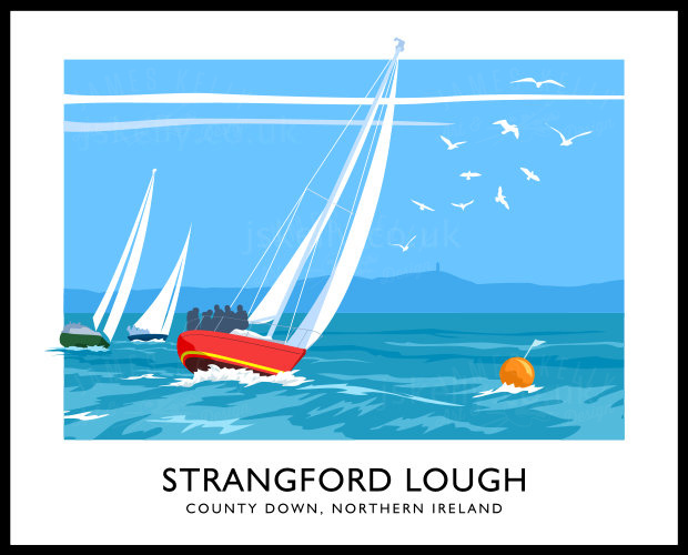 YACHTS ON STRANGFORD LOUGH