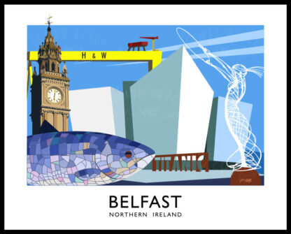 Art print of Belfast City
