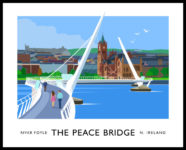 The Peace Bridge, Derry-Londonderry