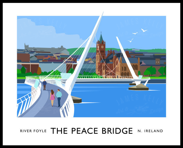 THE PEACE BRIDGE (Derry-Londonderry)
