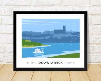 Downpatrick and the River Quoile