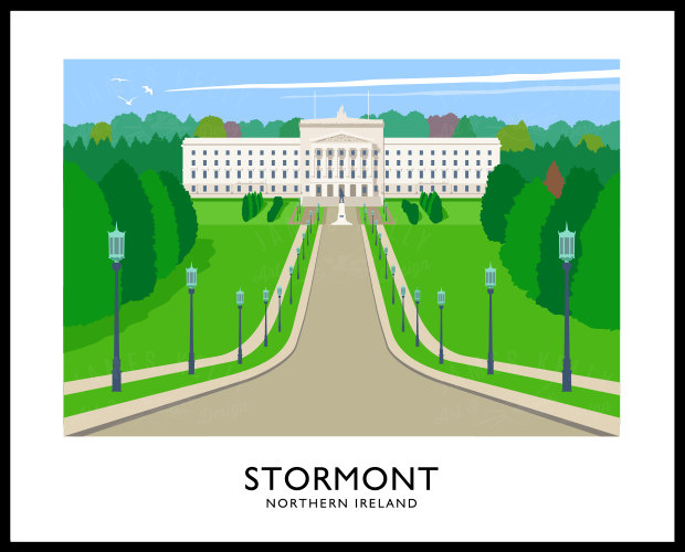 STORMONT (Parliament Buildings)