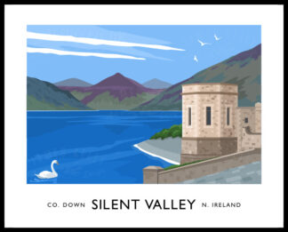 Silent Valley Reservoir, Mourne Mountains