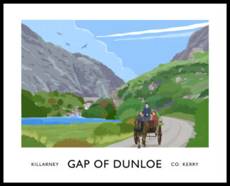 Gap of Dunloe. Killarney