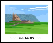 BENBULBIN travel poster