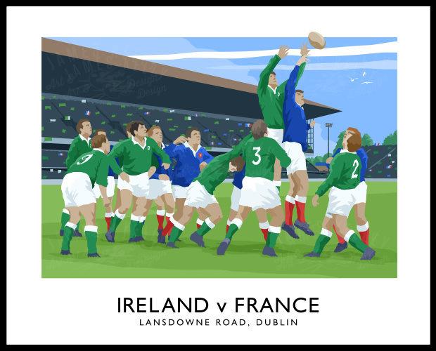 RUGBY - Ireland v France
