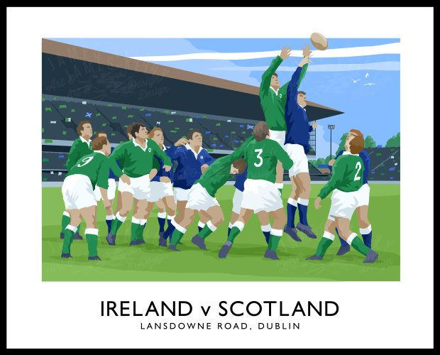 RUGBY - Ireland v Scotland