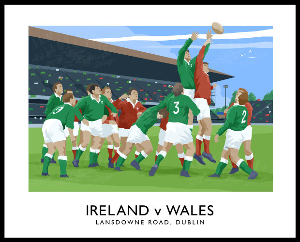 RUGBY - Ireland v Wales