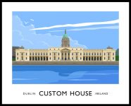 The Custom House, Dublin