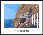 The Gobbins coastal path