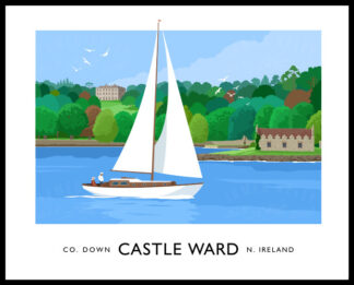 Castle Ward, near Strangford, County Down.