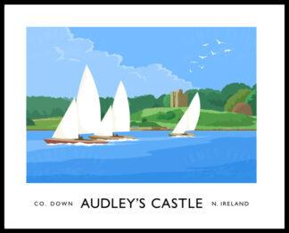 Audley's Castle, Castle Ward, County Down.