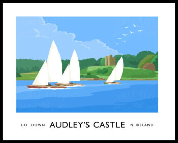 Audley's Castle, Castle Ward, County Down.