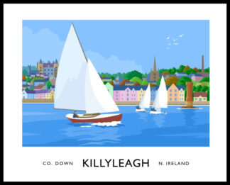 Sailing boats at Killyleagh