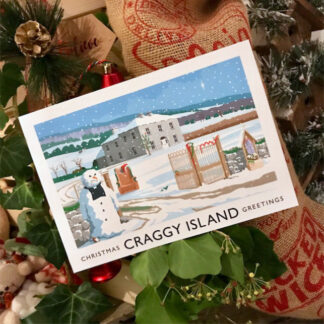 Craggy Island Christmas Card