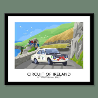 Roger Clarke winning the 1968 Circuit of Ireland Rally