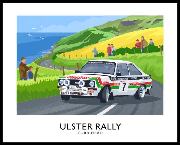 ULSTER RALLY - Mk2 ESCORT