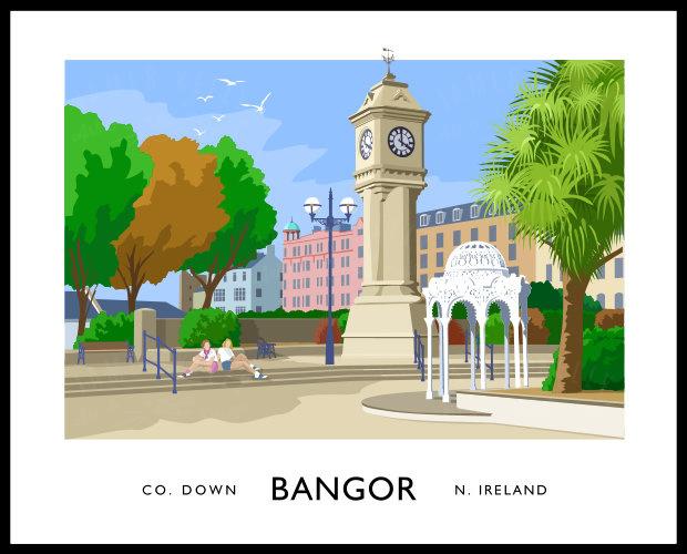 BANGOR - McKEE CLOCK