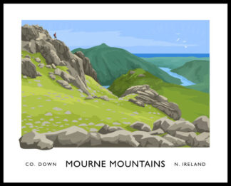 Slieve Bearnagh, M ourne Mountains, County Down.