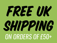 |Free UK shipping on orders of £50