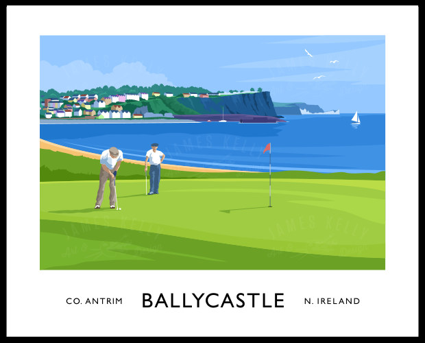 Golf at Ballycastle
