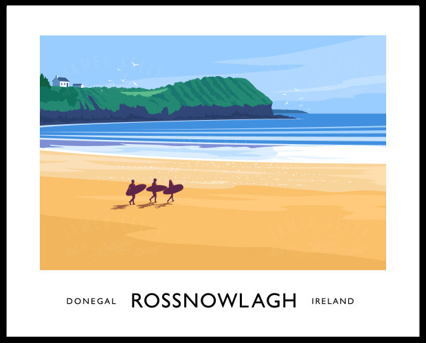 ROSSNOWLAGH BEACH