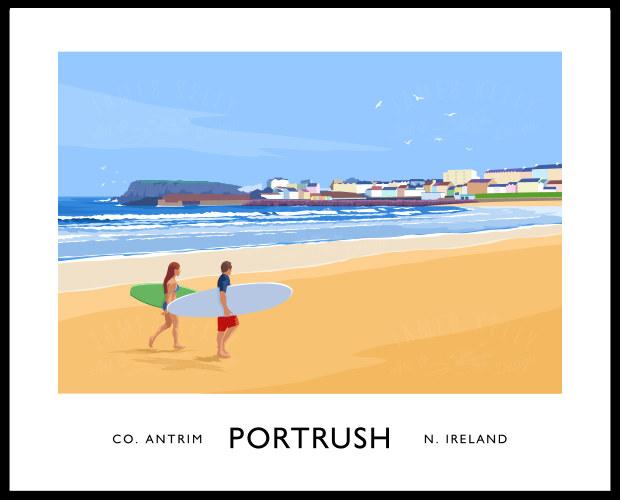 PORTRUSH (West Strand)