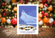 Christmas Card of the Giant's Causeway