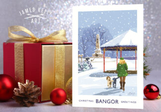 Christmas Card of Ward Park, Bangor